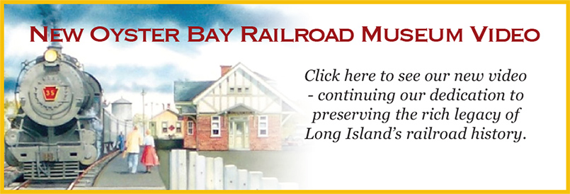 New Oyster Bay Railroad Museum Video