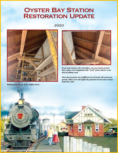 Oyster Bay Station Restoration Update