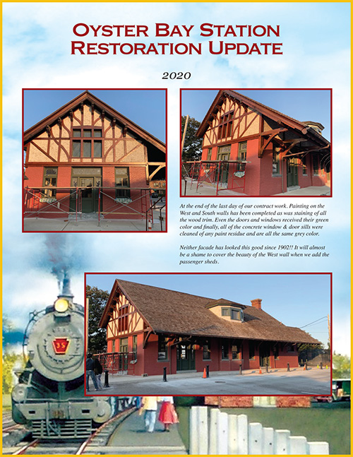 Oyster Bay Station Restoration Update